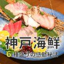 神戸のうまい海鮮料理店にて、この時期だからできた同期の送別会!
